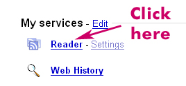 Google Reader Services